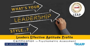 Online Training Course on LEAP (Leaders Effective Aptitude Profile)