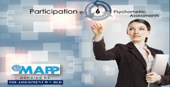 Online Training Course on eMAPP 6 - Participation in 5 Psychometric Assessments (Managing Attitudes & </br>Performance Potential (eMAPP 6))
